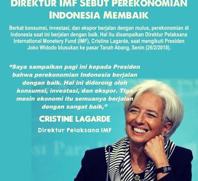 Pernyataan Lagarde tentang Ekonomi Indonesia | Sumber: Kasakusuk.com (2018)